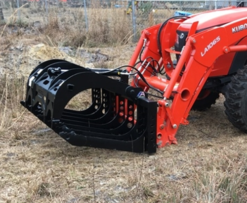 Wicked Single Lid Root Grapple for Large Tractors
